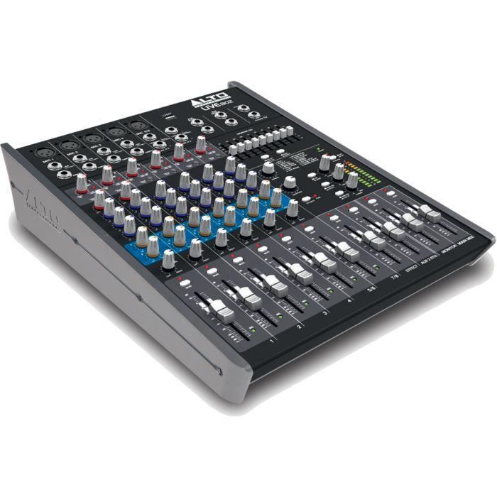 PRÉ-AMPLI AUDIO MIXEURS DE STUDIO LIVE802 ALTO PROFESSIONAL