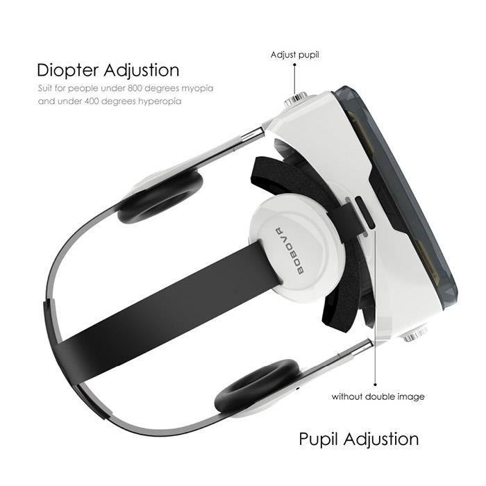 65bf3237abcb52 Xiaozhai BOBOVR Z4 VR 3D Réalité virtuelle Lunettes Immersive Théâtre privé  Microphone intégré pour 4.7 - .