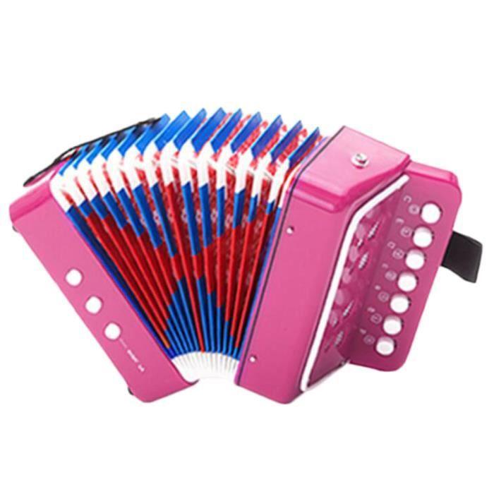 c924da21ecd9e Grand instrument de musique Mini accordéon éducation enfants jouet Jouet  enfants cadeau -A3