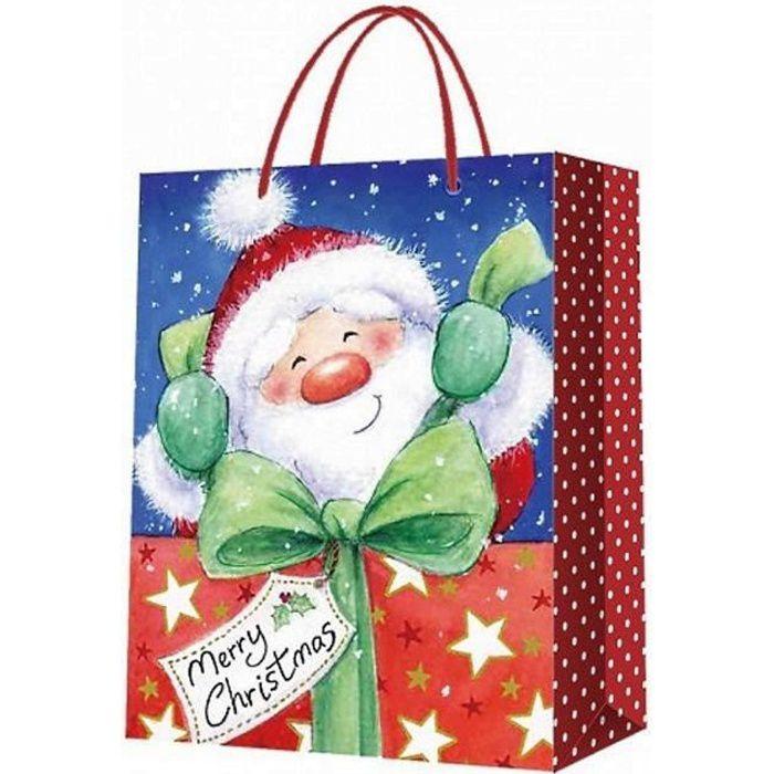 Petit sac cadeau noel - Achat / Vente pas cher