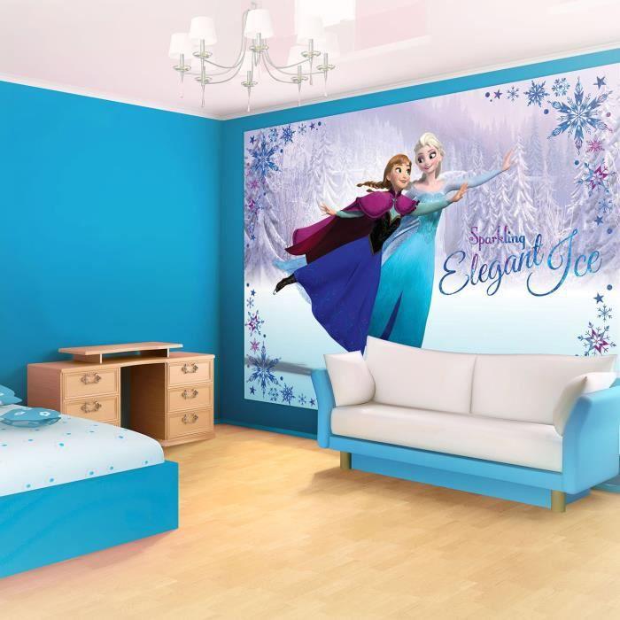 Papier Peint Disney La Reine Des Neiges Fresque Murale Frozen