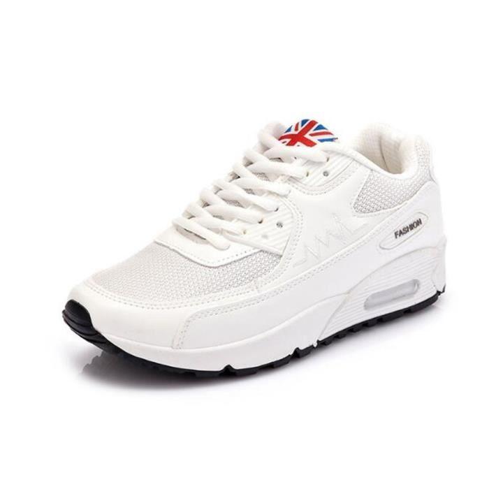 ... cool De Marque De Luxe Sneaker Grande Taille 35. BASKET Chaussures femme  de sport Nouvelle Mode 2017 ete B 076d296b97a
