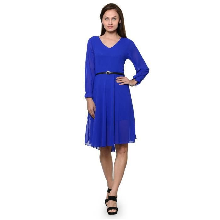 Femmes Stoplook Solide Couleur Casual Robe chasuble G7NT6 Taille-40