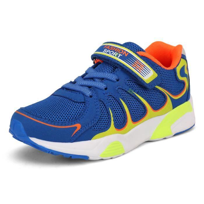 Respirant Enfants on Loisirs Sport Fille Gar Lger De Sneakers Classique Champion Daim Pour Chaussures Casual aHx7q7d