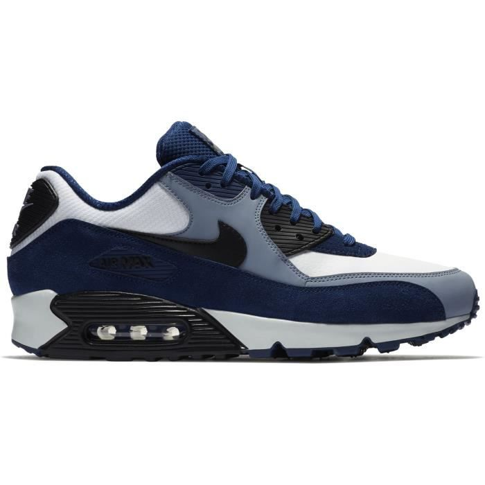 half off 45ad3 9ca08 NIKE Air Max 90 Cuir Chaussure de course hommes 1WB54K Taille-M