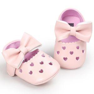 BOTTE Bébé fille évider Bowknot chaussures Casual chaussures Sneaker anti-dérapant chaussures souples@Khaki CGjGk6iOxg