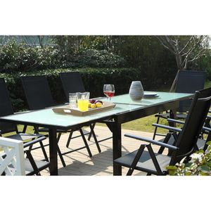 Salon de jardin aluminium - Achat / Vente Salon de jardin aluminium ...