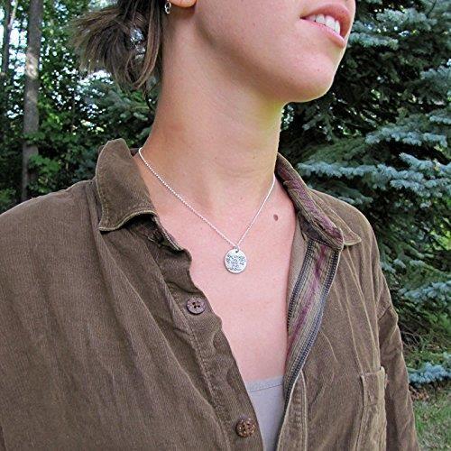 Maintenant Voyager Collier Femme - Whitman Citation Bijoux - Voilier Pendentif 18 chaîne Sterling N8BMW