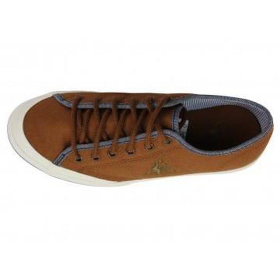 270f8f97c54e GRANDVILLE CVS TDA - Chaussures Femme Le Coq Sportif Marron Marron - Achat    Vente basket - Cdiscount