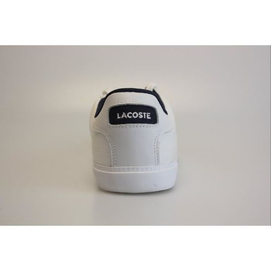 eacac5f2ba Lacoste Grad Vulc CR US SPW 729SPW1043X96 Blanc Blanc / bleu - Achat /  Vente basket - Cdiscount