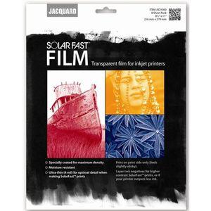 JACQUARD 8 films transparents pour imprimante jet d`encre Solarfast