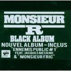 CD RAP - HIP HOP Black album MONSIEUR R Rap