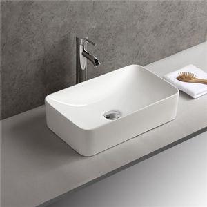 LAVABO - VASQUE Vasque à Poser Lave Main Ceramique Lavabo de Salle