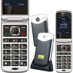 Téléphone portable Le CLAP ELEGANT 2 - 3G, Sénior - Réseau 3G - Vidéo