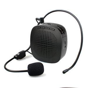 HAUT-PARLEUR - MICRO Amplificateur voix portable Ampli Casque Haut-parl