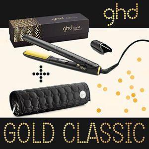 FER A LISSER GHD - FER A LISSER STYLER CLASSIC GOLD + POCHETTE