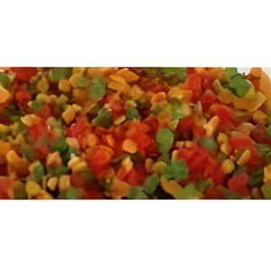 FRUITS SECS 1kg de cubes de fruits confits