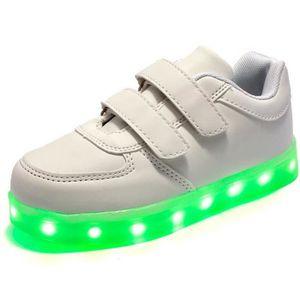 BASKET Eur Taille Enfants Led Chaussures Pour Garçons ...