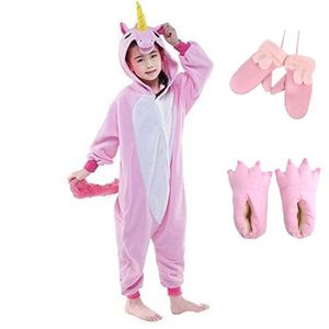 DÉGUISEMENT - PANOPLIE Kigurumi Pyjama Enfant Déguisement Licorne Combina