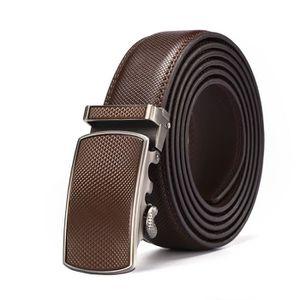 b7eac46d2988 CEINTURE ET BOUCLE Luxe Ceintures en Cuir Fashion Homme ceinture avec