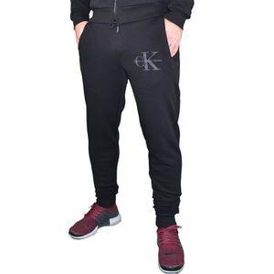 Calvin Klein - Bas De Jogging - Homme - Ck Pants Slim - Noir Noir ... 29c320e51b2