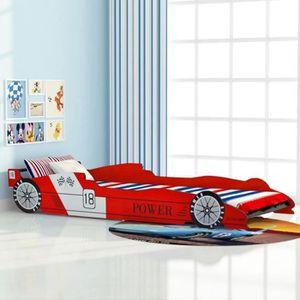 STRUCTURE DE LIT  Lit voiture de course Cadre de lits Lits de bébé