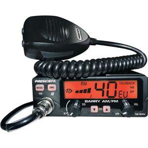 INTERCOM MOTO PRESIDENT Station de radio CB Barry ASC - 40 canna