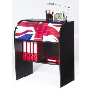 84,8x56,5x100 cm - Multiples rangements - Pour enfant - Meuble éco-conçu - Fabrication française.BUREAU - REHAUSSE BUREAU