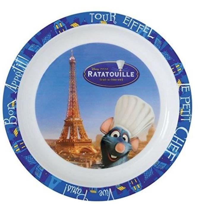 Fun House Disney ratatouille assiette micro-ondable pour enfant