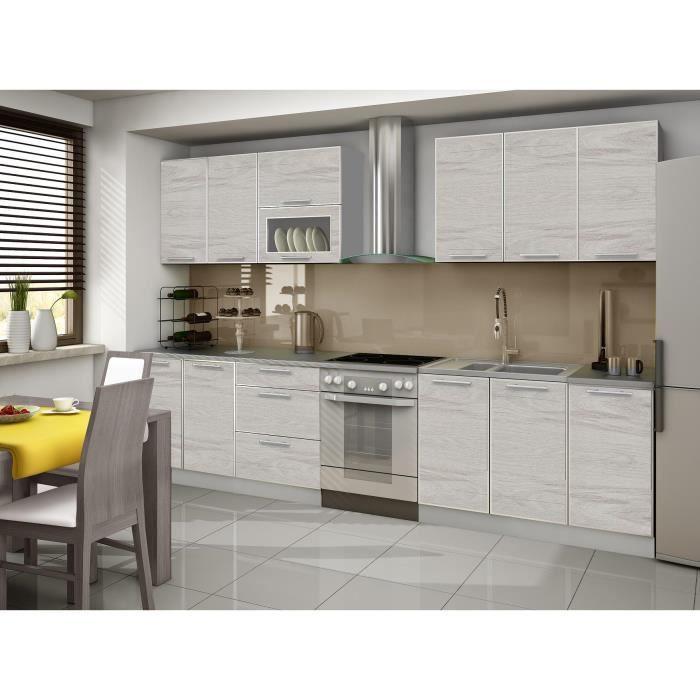 cuisine carmen 2m60 avec plan de travail achat vente cuisine compl te cuisine carmen 2m60. Black Bedroom Furniture Sets. Home Design Ideas