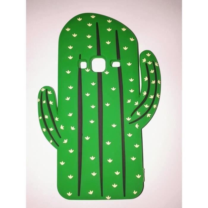 coque cactus silicone samsung j3 2016