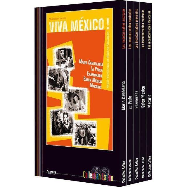 DVD FILM Viva Mexico -5 DVD Maria Candelaria/La perla/Enamo