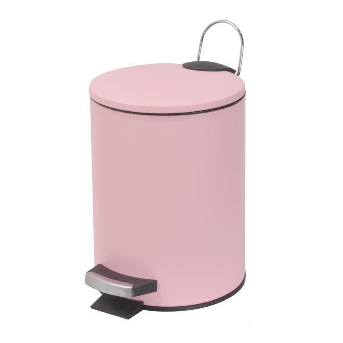 petite poubelle salle de bain achat vente pas cher. Black Bedroom Furniture Sets. Home Design Ideas