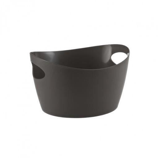 BASSINE DE CUISSON  koziol Bottichelli XS, Ovale, Noir, 0,45 L, 155 mm