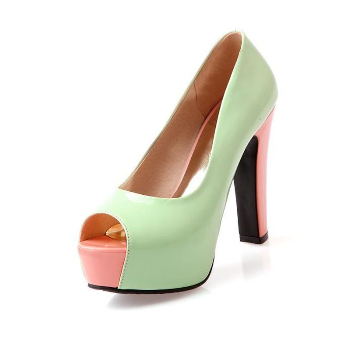 2016 sexy sandale à bout ouvert Les Chaussures pour Femmes Des chaussures à talons hauts