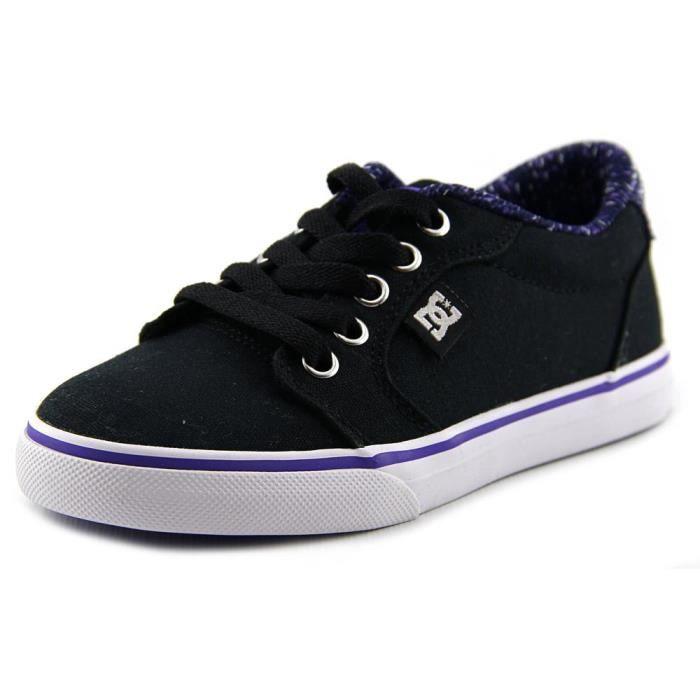 9482c909eda2d DC Shoes Anvil TX SE Toile Chaussure de Basket Noir - Achat   Vente ...