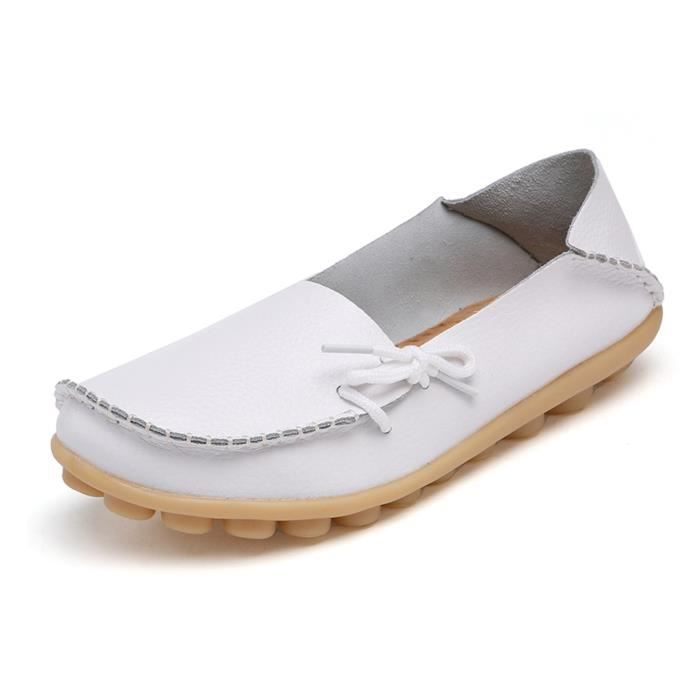 Comfort Walking Office Flat Loafer ZW2PL Taille-39