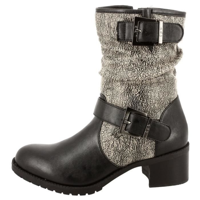 Breathable Stretch Textured Sole Sock Boot HXILU Taille-37 atpe8XpXx