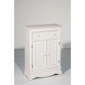 Petit meuble de rangement a tiroir achat vente petit for Petit meuble blanc a tiroir