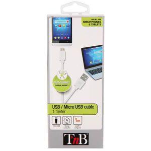 TNB Câble USB micro USB 1m
