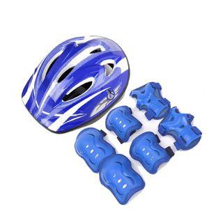 KIT PROTECTION 7 pcs / set Sécurité sportive Casque pour Knee Cou