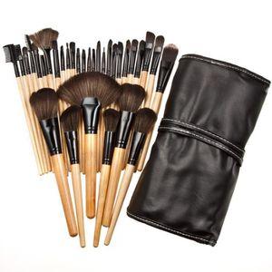 TAILLE CRAYON FARD Pinceaux professionnels 32 pcs Maquillage Ensemble