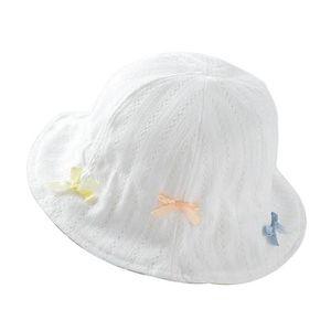 CHAPEAU - BOB [blanc] Chapeau de soleil pour bébé filles bébé se