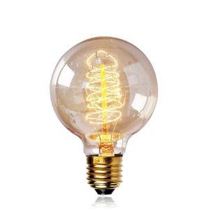 AMPOULE - LED E27 Edison Ampoules à Incandescence G80 40W 220V G