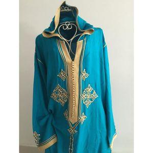 TUNIQUE robe orientale , djellaba, robe, femme