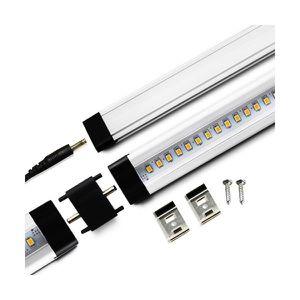 APPLIQUE  Réglette LED aluminium 0m30 39 LED SMD blanc chaud