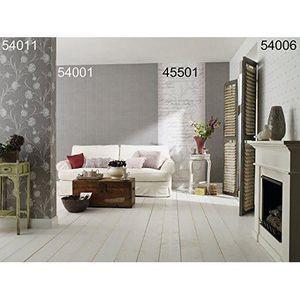 Papier peint rayures gris achat vente papier peint - Papier peint pas cher 4 murs ...