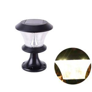 LAMPE DE JARDIN  8 led Lampe de jardin solaire, Lampe solaire exter
