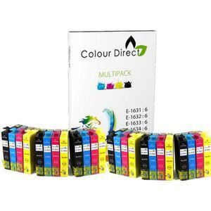 CARTOUCHE IMPRIMANTE 24 ColourDirect Cartouches d'encre  Pour Epson WF2