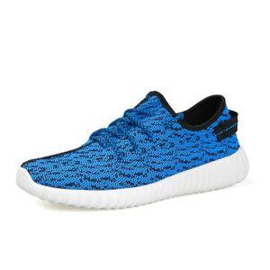 Chaussures de sport Nouvelle Mode Qualité Supérieure Marque De Luxe Durable Confortable Baskets Hommes Plus Taille gris 39 zHF2N